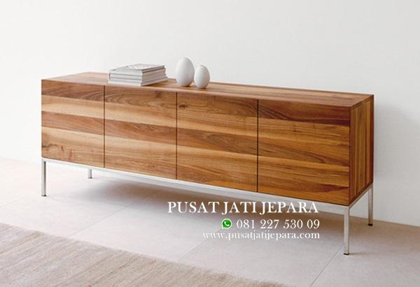 Bufet Jati Farah Solid Modern