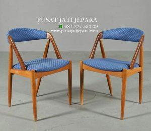 Kursi Cafe Retro Solid Minimalis Kayu Jati
