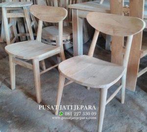 Kursi Cafe Ropan Kayu Jati Solid