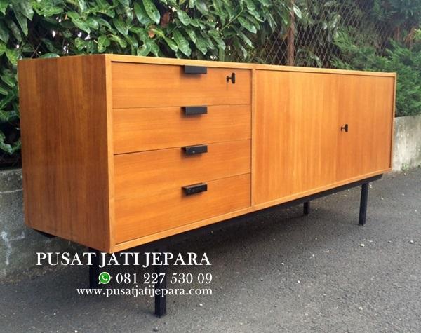 Bufet Jati Retro Vintage Solid