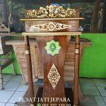 Mimbar Podium Masjid Pesanan Azzikra Sentul Bogor