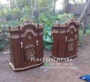 Podium Mimbar Masjid Jati Terbaru