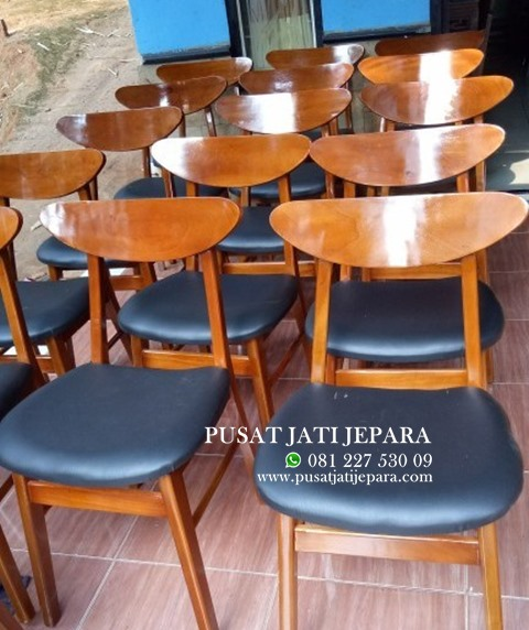 Kursi Cafe Jati Ropan Terbaru Busa Minimalis