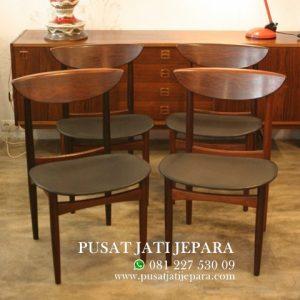 Kursi Cafe Ropan Jati Satin Vintage