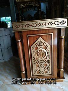 Podium Mimbar Masjid 2 Soko Modern