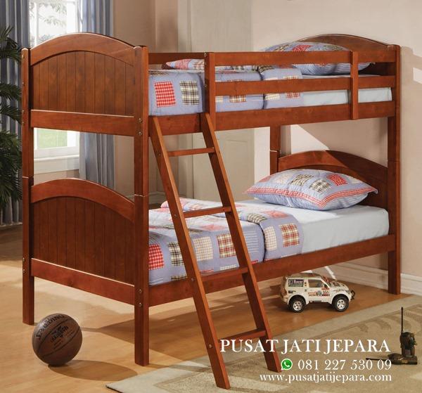 Tempat Tidur Tingkat Anak Minimalis Tangga