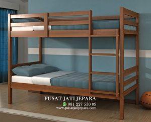 Tempat Tidur Tingkat Anak Model Tangga Modern
